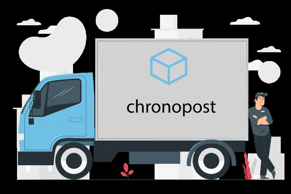 Chronopost Shipping Guy Logo